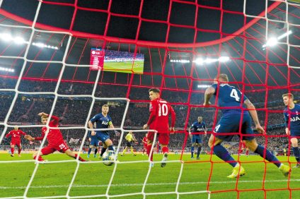 Liga champios_Bayern_tottenhem