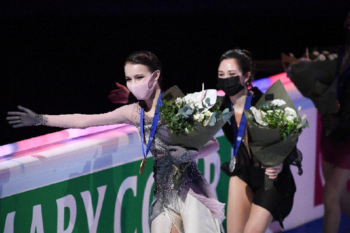Анна Щербакова и Елизавета Туктамышева