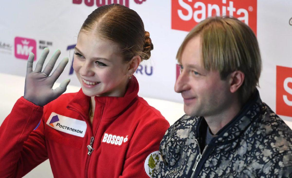 Трусова Плющенко