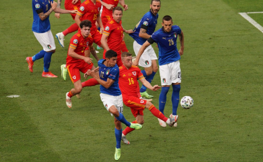 Италия Евро Уэльс