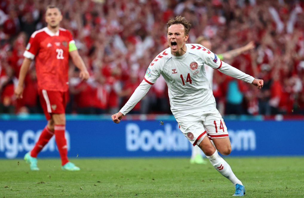 Россия Дания