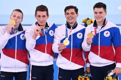 Россия гимнастика чемпионы