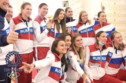 Россия Олимпиада-2020