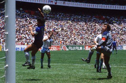Марадона Англия Аргентина